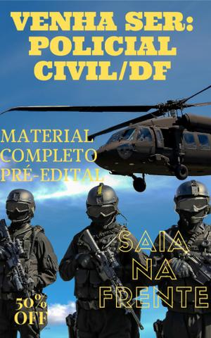 Curso completo: Agente da Policia Civil do Distrito Federal PC/DF. PC DF