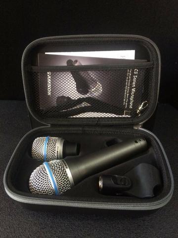 Microfone Samson CS Series c/ 2 Cápsulas (Link Para Compra) - Foto 6