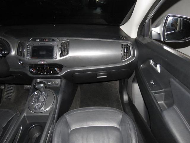 Kia Sportage 2.0 EX 4X2 16v Flex 4p Automático Top de Linha C/ Teto Solar Duplo - Foto 12