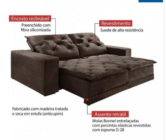 Sofa martins | 2,50m de largura | Top de linha - Foto 2