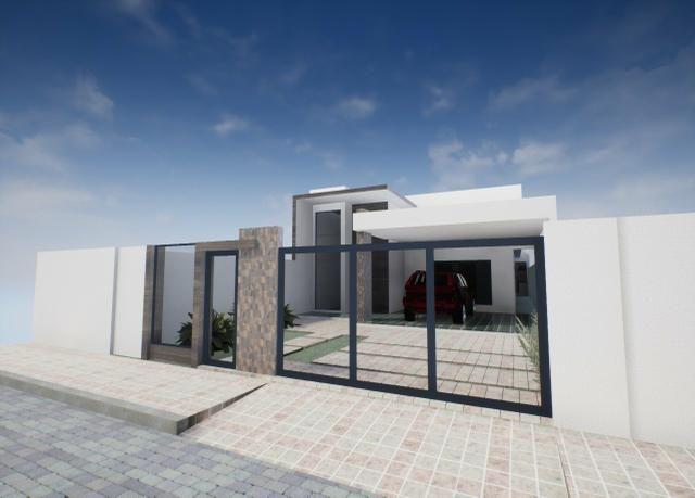 Linda Casa Moderna Rua 8 Vic Pires Ernani Nunes - Foto 4
