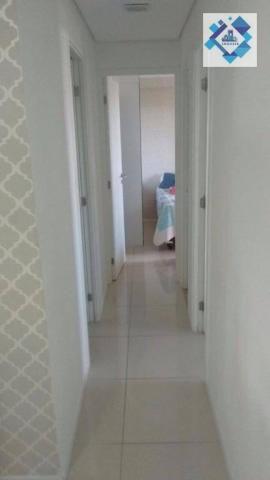 Apartamento com 3 dormitórios à venda, 72 m² por R$ 460.000,00 - Guararapes - Fortaleza/CE - Foto 11