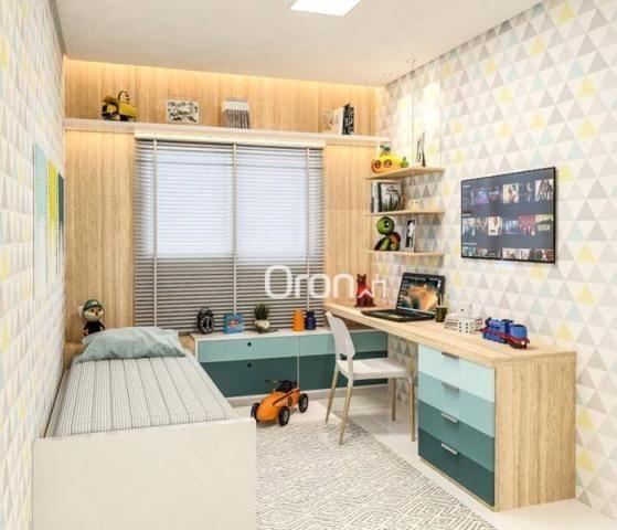 Apartamento com 2 dormitórios à venda, 58 m² por R$ 203.000,00 - Vila Rosa - Goiânia/GO - Foto 8