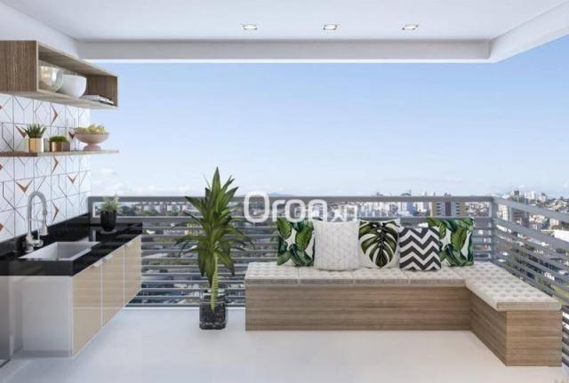 Apartamento com 2 dormitórios à venda, 58 m² por R$ 203.000,00 - Vila Rosa - Goiânia/GO - Foto 4