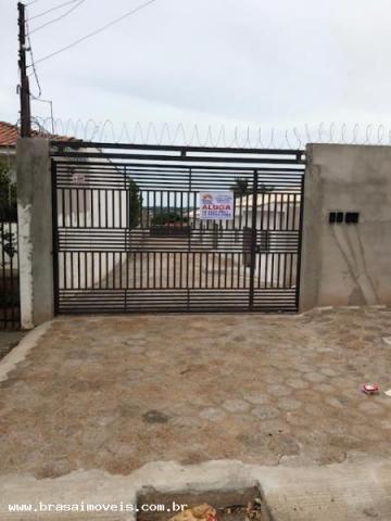 Casa para locação em presidente prudente, grupo educacional esquema, 2 dormitórios, 1 banh