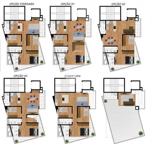 Cobertura 03 quartos (01 suite) em São José dos Pinhais. - Foto 13