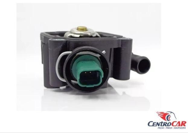 Carcaça Com Válvula Termostática Sensor Citroen C3 Xsara Peugeot 206 207 307 1.6 16v 2006. - Foto 4