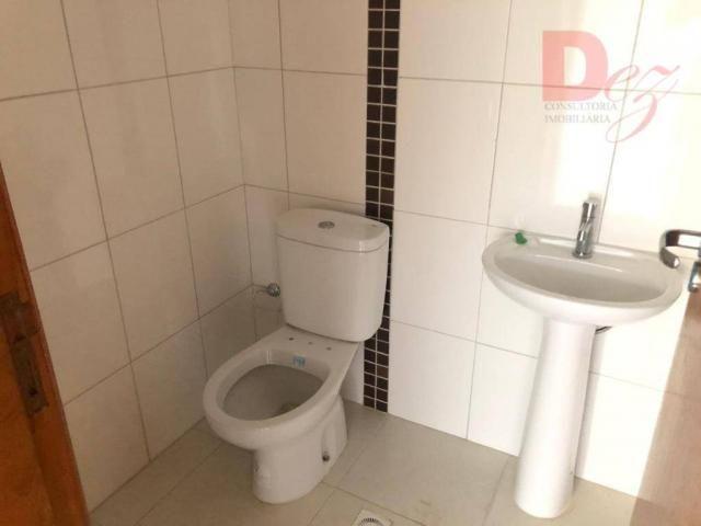 Apartamento com 2 dormitórios para alugar, 92 m² por r$ 2.200/mês - vila guilhermina - pra - Foto 16