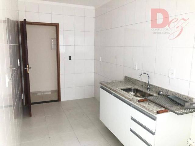 Apartamento com 2 dormitórios para alugar, 92 m² por r$ 2.200/mês - vila guilhermina - pra - Foto 10