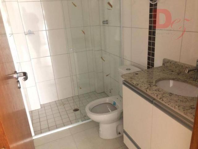 Apartamento com 2 dormitórios para alugar, 92 m² por r$ 2.200/mês - vila guilhermina - pra - Foto 17