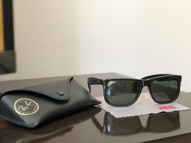 1f3ecf60c015c Óculos Ray-Ban ORIGINAL modelo Justin - Bijouterias, relógios e ...