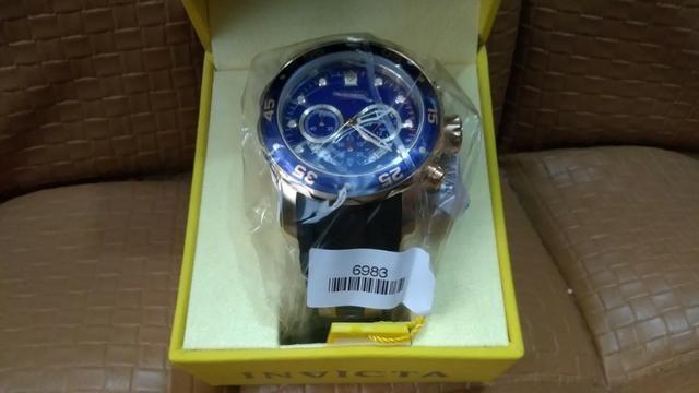 3c147ed3fd5 Relógio Invicta Pro Diver 6983 - Ouro 18k Original - Bijouterias ...