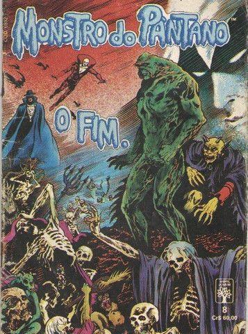 Kit 4 revistas DC (Monstro do Pântano e Armagedon 2001)
