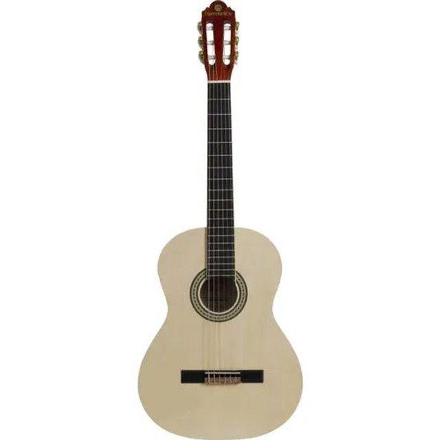 Violão Gna 111 Harmonics Clássico Acústico Natural Nylon
