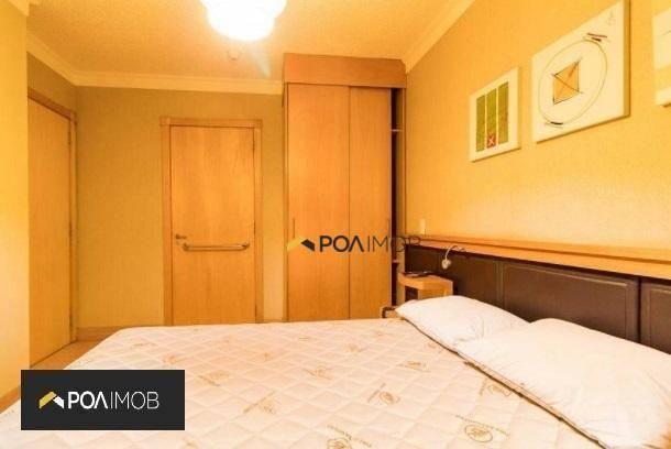 Apartamento mobiliado com 01 dormitório no Moinhos de Vento - Foto 10