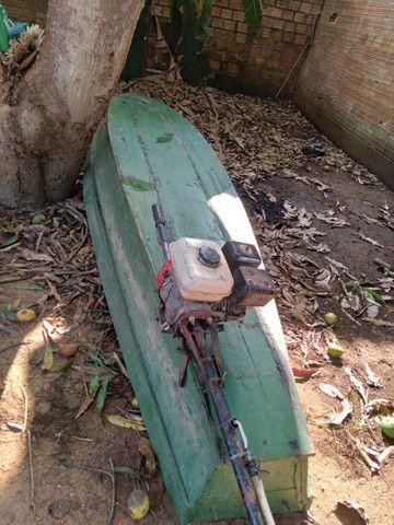 Canoa e moto honda  - Foto 2