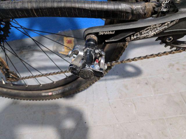 Bicicleta aro 29 aceito trocas passo cartão - Foto 3