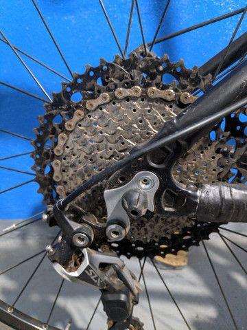 Bicicleta aro 29 aceito trocas passo cartão - Foto 5