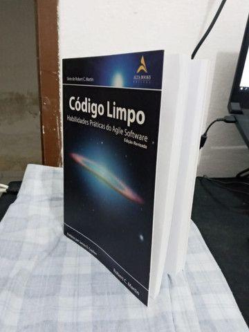 Livro Código Limpo Português Seminovo