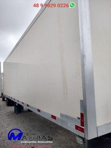 Baú frigorifico 14 paletes Peixeiro Comp 7.50m Mathias Implementos