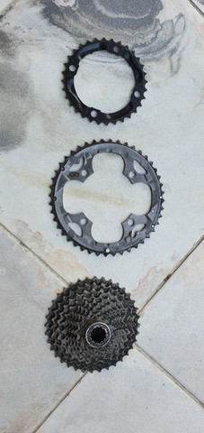 Vendo peças bike 10v