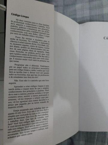 Livro Código Limpo Português Seminovo - Foto 4