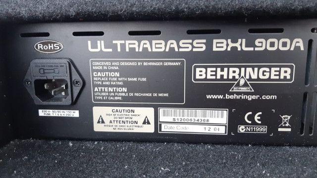 Amplificador Behringer Para Contrabaixo Ultrabass Bxl900a - Foto 4