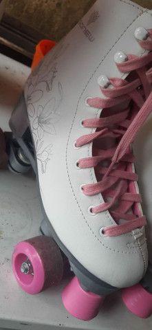 Vendo patins usado - Foto 4