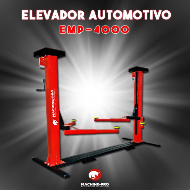 Elevador Automotivo 4000 kg Machine-Pro