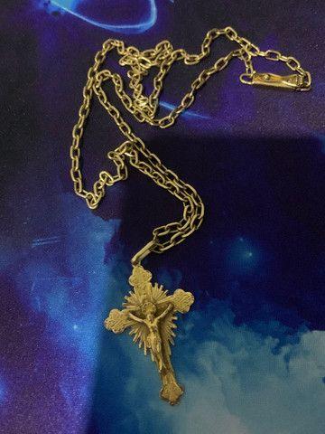 Cordão ouro 18k - Foto 2