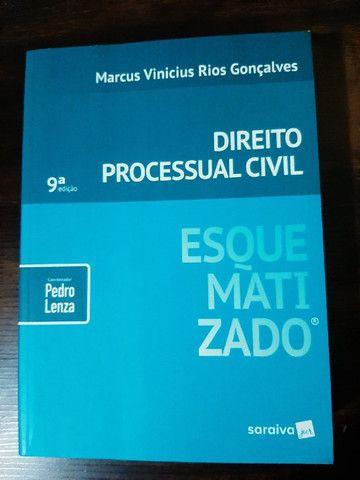 Livro Processo Civil Esquematizado 9ª Edição