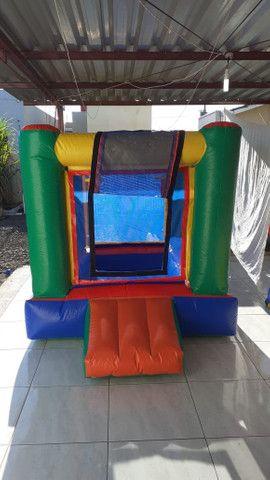 Aluguel brinquedos para festa, cama elástica e piscina de bolinhas - Foto 2