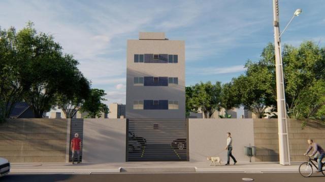 Apartamento à venda, 2 quartos, 1 vaga, Letícia - Belo Horizonte/MG