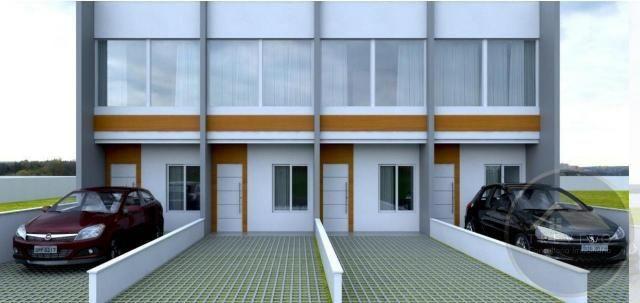 Casa Geminada para Venda em Joinville, Iririú, 2 dormitórios, 1 banheiro