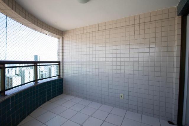 Apartamento com 3 quartos para alugar, 114 m² por R$ 3.760/mês - Boa Viagem - Recife/PE - Foto 3