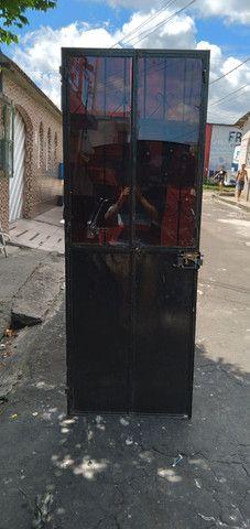 Portão de ferro  com fechadura é chave fazemos  entrega  - Foto 3