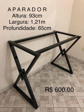 APARADOR E MESA DE CENTRO - Foto 2