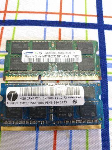 Vendo memória ram de 4gb e 2gb e processador core i7 720QM - Foto 2