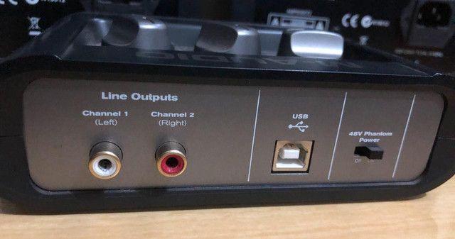 Placa M-áudio 500 reias no pix,não faço menos já está super baixo o valor  - Foto 2