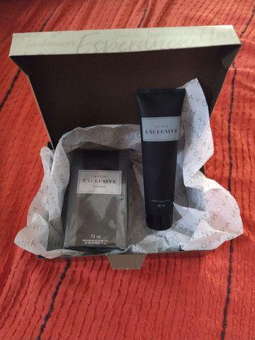 Vendo kit perfume e shampoo exclusivo in black - Foto 2