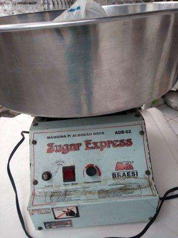 Venda máquina algodão doce - Foto 5