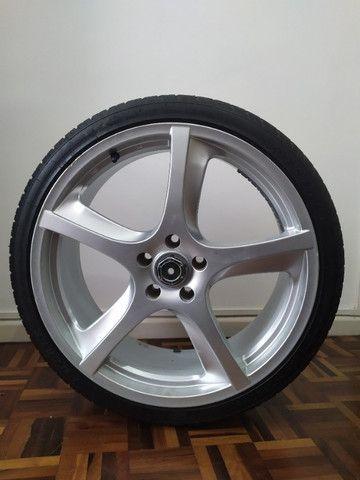 Rodas aro 20 com pneus novos!!! - Foto 4