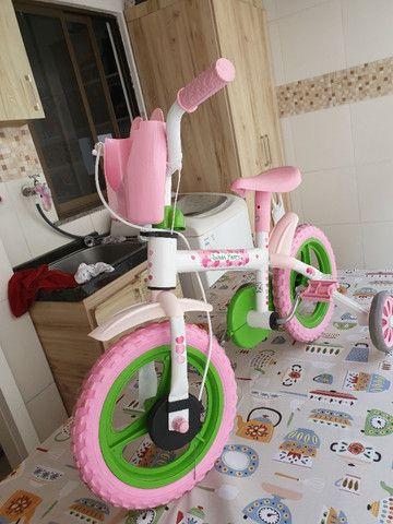 Bicicleta de Menina- Aro 12 - Foto 3