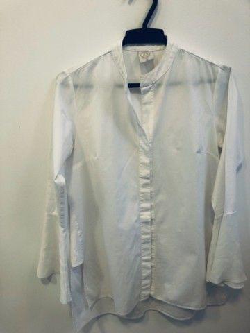 Camisa branca social feminina  - Foto 2