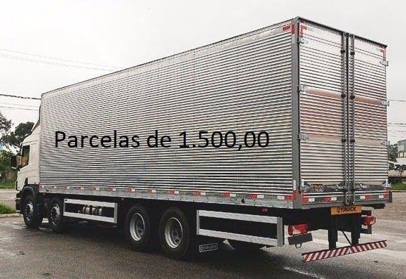 Scania P310 2014 8x2 Bitruck com Baú de Alumínio Entrada mais Parcelas e Contrato Serviço. - Foto 5