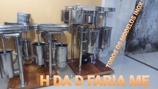 H Da S Faria ME Fabrica de maquinas em aço inox Açai. - Foto 2