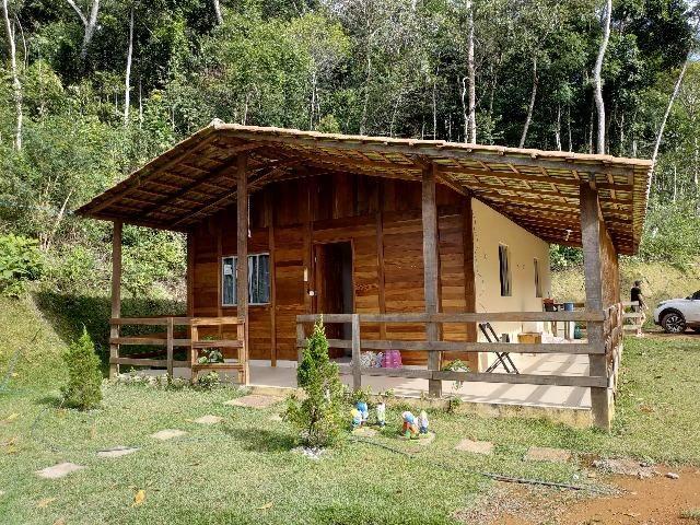 Linda Chácara 1.500m² Santa Leopoldina Com Casa Colonial Nova Área de Churrasco Nova