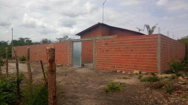 Casa barato 3 quart terreno 24x42 murado em Monsenhor Gil. 42 mil