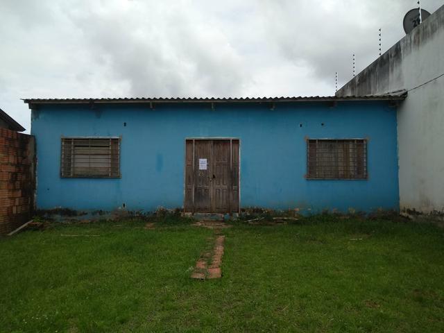 Casa no nova morada no início do Calafate