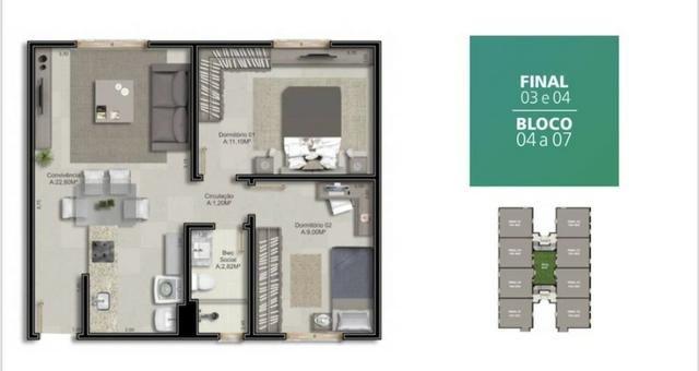 Apartamento a 5 Minutos do Centro - Foto 3